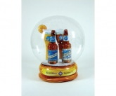 Blue Moon Inflatable Snow Globe