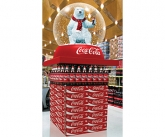 Coke Snow Globe