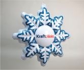 Kraft Snowflake Inflatable