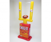 Cheez-It Inflatable Goal Post