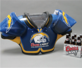 Coors Light Inflatable Shoulder Pads