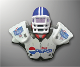 Diet Pepsi Inflatable Football Dummy