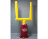 Dr. Pepper Inflatable Goal Post