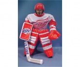 Miller Lite Inflatable Hockey Goalie