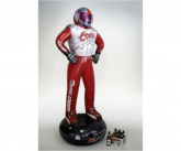 Coors light inflatable POS race car driver