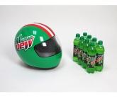 Mountian dew inflatable POS racing helmet