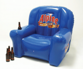 Alpine inflatable POS chair