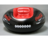 Coke a cola football inflatable POS chair