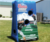 Coors light inflatable game