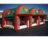 Oreo fast pitch inflatable game
