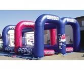 Pepsi inflatable game