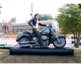 Harley chick Giant inflatable