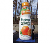 Tropicana Giant inflatable