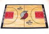 Corona/Trail Blazers basketball court mat