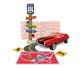 Custom Floor Mat with Inflatable Display Enhancers