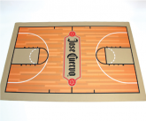 Custom POS Basketball Themed Floor mat