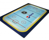Custom POS Hockey Themed Floor mat