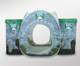Poland springs castle tent point of sale