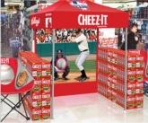 POS Tent W/ Baseball Pitch Backdrop