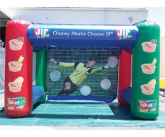 Jif soccer inflatable game