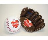 Coke inflatable baseball