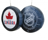 Molson hockey pucks