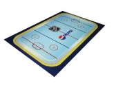 Pepsi hockey floormat