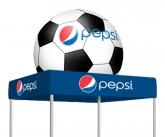 Pepsi soccer tent