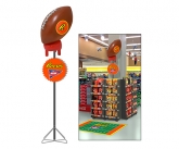 Reeses Motorized Football Display Enhancer