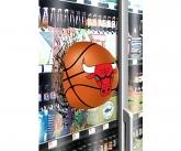 Bulls basketball Window Cling