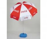 Coca cola pos umbrella