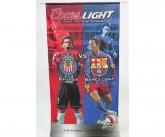 Coors light POS soccer banner
