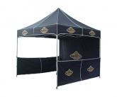 Custom pop-up event tents