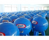 Kraft grill inflation testing at factory